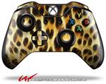 Decal Style Skin for Microsoft XBOX One Wireless Controller Fractal Fur Leopard - (CONTROLLER NOT INCLUDED)