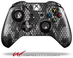 Decal Style Skin for Microsoft XBOX One Wireless Controller HEX Mesh Camo 01 Gray - (CONTROLLER NOT INCLUDED)