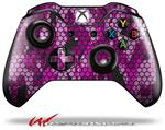 Decal Style Skin for Microsoft XBOX One Wireless Controller HEX Mesh Camo 01 Pink - (CONTROLLER NOT INCLUDED)