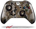 Decal Style Skin for Microsoft XBOX One Wireless Controller HEX Mesh Camo 01 Tan - (CONTROLLER NOT INCLUDED)