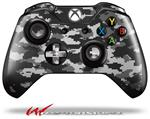 Decal Style Skin for Microsoft XBOX One Wireless Controller WraptorCamo Digital Camo Gray - (CONTROLLER NOT INCLUDED)