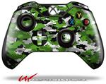 Decal Style Skin for Microsoft XBOX One Wireless Controller WraptorCamo Digital Camo Green - (CONTROLLER NOT INCLUDED)