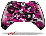 Decal Style Skin for Microsoft XBOX One Wireless Controller WraptorCamo Digital Camo Hot Pink - (CONTROLLER NOT INCLUDED)