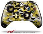 Decal Style Skin for Microsoft XBOX One Wireless Controller WraptorCamo Digital Camo Yellow - (CONTROLLER NOT INCLUDED)