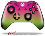 Decal Style Skin for Microsoft XBOX One Wireless Controller Smooth Fades Neon Green Hot Pink - (CONTROLLER NOT INCLUDED)