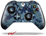 Decal Style Skin for Microsoft XBOX One Wireless Controller WraptorCamo Old School Camouflage Camo Navy - (CONTROLLER NOT INCLUDED)
