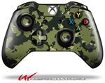 Decal Style Skin for Microsoft XBOX One Wireless Controller WraptorCamo Old School Camouflage Camo Army - (CONTROLLER NOT INCLUDED)