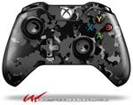 Decal Style Skin for Microsoft XBOX One Wireless Controller WraptorCamo Old School Camouflage Camo Black - (CONTROLLER NOT INCLUDED)