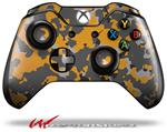 Decal Style Skin for Microsoft XBOX One Wireless Controller WraptorCamo Old School Camouflage Camo Orange - (CONTROLLER NOT INCLUDED)