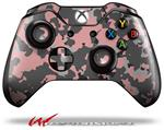 Decal Style Skin for Microsoft XBOX One Wireless Controller WraptorCamo Old School Camouflage Camo Pink - (CONTROLLER NOT INCLUDED)
