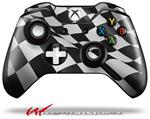 Decal Style Skin for Microsoft XBOX One Wireless Controller Checkered Racing Flag - (CONTROLLER NOT INCLUDED)