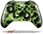 Decal Style Skin for Microsoft XBOX One Wireless Controller Electrify Green - (CONTROLLER NOT INCLUDED)
