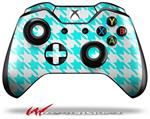 Decal Style Skin for Microsoft XBOX One Wireless Controller Houndstooth Neon Teal - (CONTROLLER NOT INCLUDED)