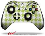 Decal Style Skin for Microsoft XBOX One Wireless Controller Houndstooth Sage Green - (CONTROLLER NOT INCLUDED)