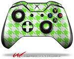 Decal Style Skin for Microsoft XBOX One Wireless Controller Houndstooth Neon Lime Green - (CONTROLLER NOT INCLUDED)