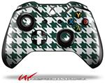 Decal Style Skin for Microsoft XBOX One Wireless Controller Houndstooth Hunter Green - (CONTROLLER NOT INCLUDED)