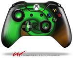Decal Style Skin for Microsoft XBOX One Wireless Controller Alecias Swirl 01 Green - (CONTROLLER NOT INCLUDED)