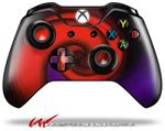 Decal Style Skin for Microsoft XBOX One Wireless Controller Alecias Swirl 01 Red - (CONTROLLER NOT INCLUDED)