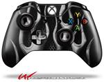 Decal Style Skin for Microsoft XBOX One Wireless Controller Metal Flames Chrome - (CONTROLLER NOT INCLUDED)