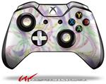 Decal Style Skin for Microsoft XBOX One Wireless Controller Neon Swoosh on White - (CONTROLLER NOT INCLUDED)