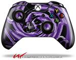 Decal Style Skin for Microsoft XBOX One Wireless Controller Alecias Swirl 02 Purple - (CONTROLLER NOT INCLUDED)