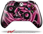 Decal Style Skin for Microsoft XBOX One Wireless Controller Alecias Swirl 02 Hot Pink - (CONTROLLER NOT INCLUDED)