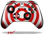 Decal Style Skin for Microsoft XBOX One Wireless Controller Bullseye Red and White - (CONTROLLER NOT INCLUDED)