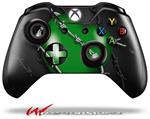 Decal Style Skin for Microsoft XBOX One Wireless Controller Barbwire Heart Green - (CONTROLLER NOT INCLUDED)