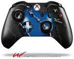 Decal Style Skin for Microsoft XBOX One Wireless Controller Barbwire Heart Blue - (CONTROLLER NOT INCLUDED)