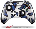Decal Style Skin for Microsoft XBOX One Wireless Controller Butterflies Blue - (CONTROLLER NOT INCLUDED)