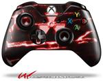 Decal Style Skin for Microsoft XBOX One Wireless Controller Radioactive Red - (CONTROLLER NOT INCLUDED)