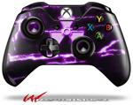 Decal Style Skin for Microsoft XBOX One Wireless Controller Radioactive Purple - (CONTROLLER NOT INCLUDED)