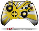 Decal Style Skin for Microsoft XBOX One Wireless Controller Rising Sun Japanese Flag Yellow - (CONTROLLER NOT INCLUDED)
