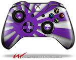 Decal Style Skin for Microsoft XBOX One Wireless Controller Rising Sun Japanese Flag Purple - (CONTROLLER NOT INCLUDED)