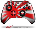 Decal Style Skin for Microsoft XBOX One Wireless Controller Rising Sun Japanese Flag Red - (CONTROLLER NOT INCLUDED)