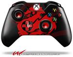 Decal Style Skin for Microsoft XBOX One Wireless Controller Oriental Dragon Red on Black - (CONTROLLER NOT INCLUDED)