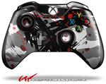 Decal Style Skin for Microsoft XBOX One Wireless Controller Abstract 02 Red - (CONTROLLER NOT INCLUDED)