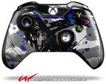 Decal Style Skin for Microsoft XBOX One Wireless Controller Abstract 02 Blue - (CONTROLLER NOT INCLUDED)