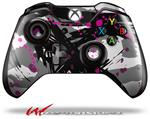 Decal Style Skin for Microsoft XBOX One Wireless Controller Abstract 02 Pink - (CONTROLLER NOT INCLUDED)