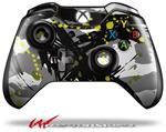 Decal Style Skin for Microsoft XBOX One Wireless Controller Abstract 02 Yellow - (CONTROLLER NOT INCLUDED)