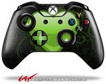 Decal Style Skin for Microsoft XBOX One Wireless Controller Glass Heart Grunge Green - (CONTROLLER NOT INCLUDED)