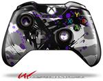 Decal Style Skin for Microsoft XBOX One Wireless Controller Abstract 02 Purple - (CONTROLLER NOT INCLUDED)
