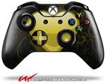Decal Style Skin for Microsoft XBOX One Wireless Controller Glass Heart Grunge Yellow - (CONTROLLER NOT INCLUDED)