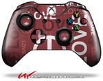 Decal Style Skin for Microsoft XBOX One Wireless Controller Love and Peace Pink - (CONTROLLER NOT INCLUDED)