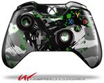 Decal Style Skin for Microsoft XBOX One Wireless Controller Abstract 02 Green - (CONTROLLER NOT INCLUDED)