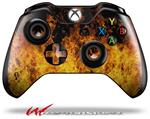 Decal Style Skin for Microsoft XBOX One Wireless Controller Open Fire - (CONTROLLER NOT INCLUDED)
