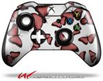 Decal Style Skin for Microsoft XBOX One Wireless Controller Butterflies Pink - (CONTROLLER NOT INCLUDED)