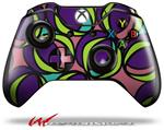 Decal Style Skin for Microsoft XBOX One Wireless Controller Crazy Dots 01 - (CONTROLLER NOT INCLUDED)