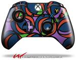 Decal Style Skin for Microsoft XBOX One Wireless Controller Crazy Dots 02 - (CONTROLLER NOT INCLUDED)