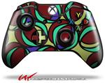 Decal Style Skin for Microsoft XBOX One Wireless Controller Crazy Dots 04 - (CONTROLLER NOT INCLUDED)